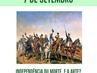 O período de independência do Brasil e o cenário artístico - Missão francesa.