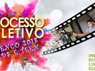 Processo Seletivo Kids & Teen 2018