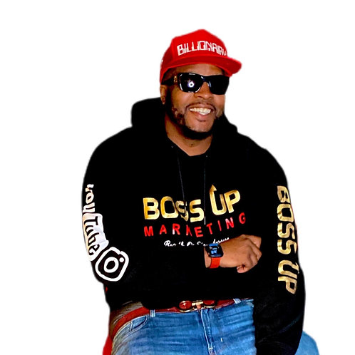 Bossup or stay average Hoodies