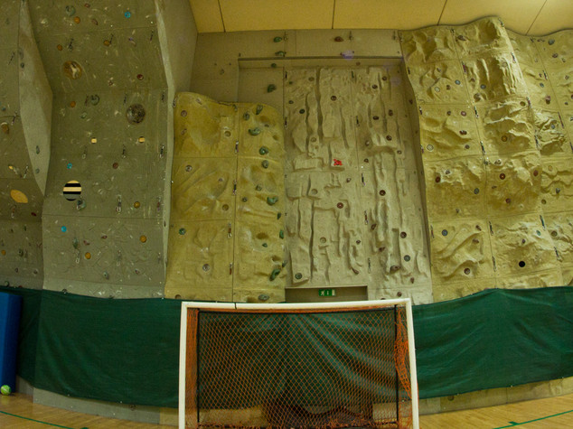 INDOOR WALL CLIMBING