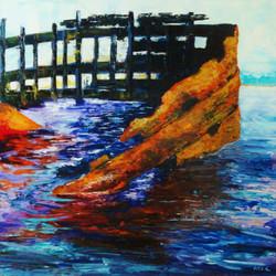 flotsam in the bay