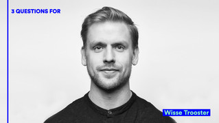 3 QUESTIONS FOR: Wisse Trooster   IsolaDD