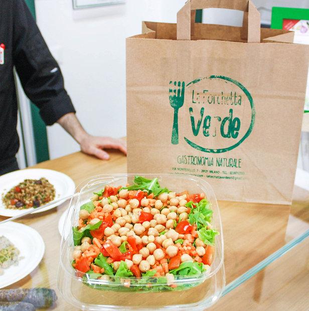La  Forchetta Verde offre una cucina completamente vegetariana e vegana