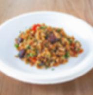 Tutti i nostri piatti sono vegetariani o vegani, inoltre utilizziamo prodotti biologici e gluten free