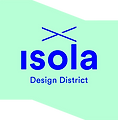 Isola design district_logo web negativo-