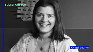 3 QUESTIONS FOR: Kristel Laurits   IsolaDD