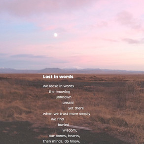 Lost in words