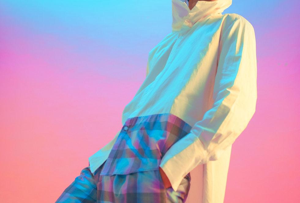 Gradient Shirt Hoodie 🧿