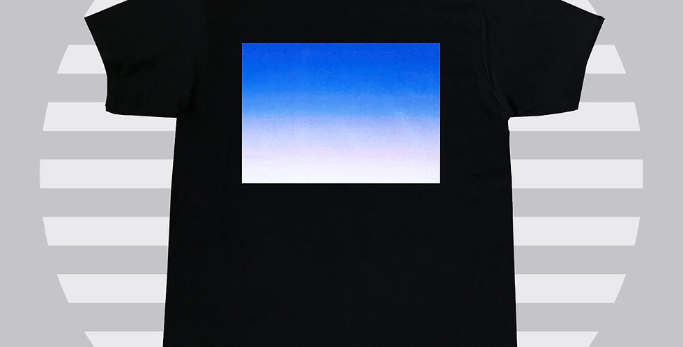 Gradient Printed T shirt