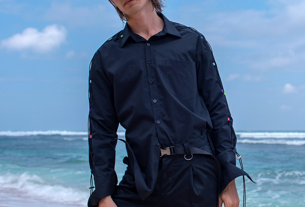 Cord Shoulder Shirt