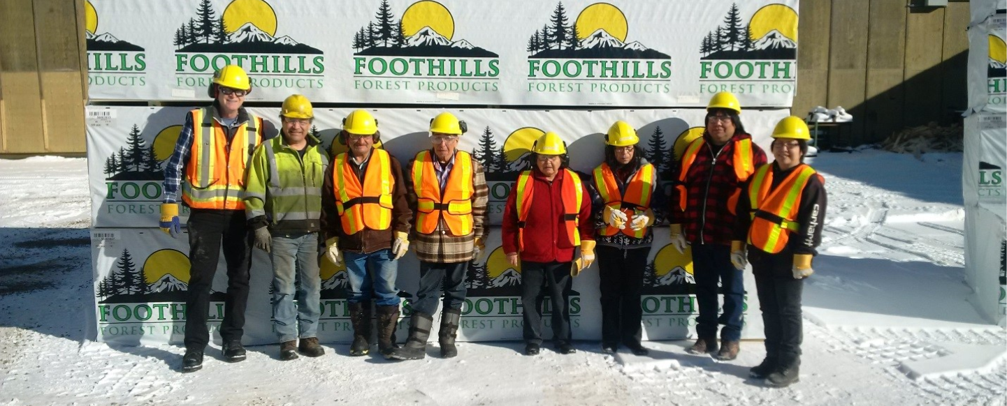 AWN Elders Tour Foothills Sawmill