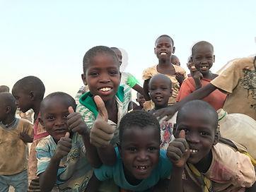 Happy children in Kenya