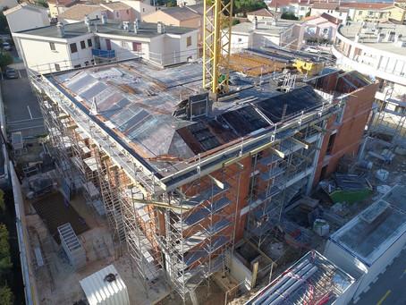 VERANO - Avancement du chantier