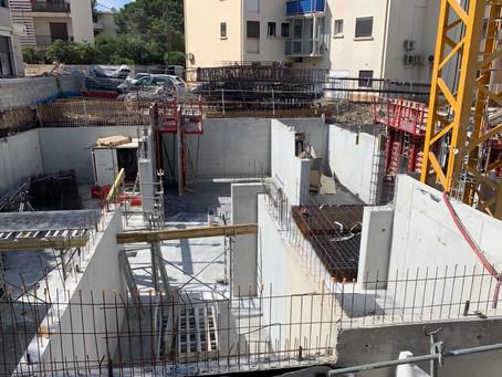 VERANO - Elévation du sous-sol en cours