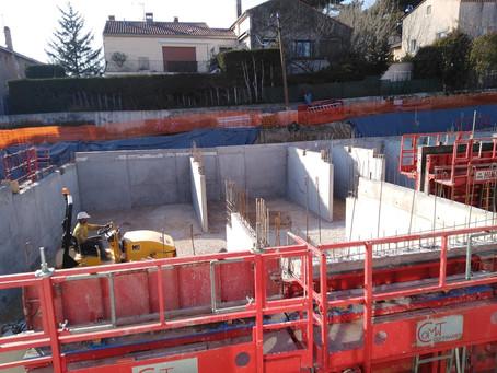 MELODY - Avancement du chantier