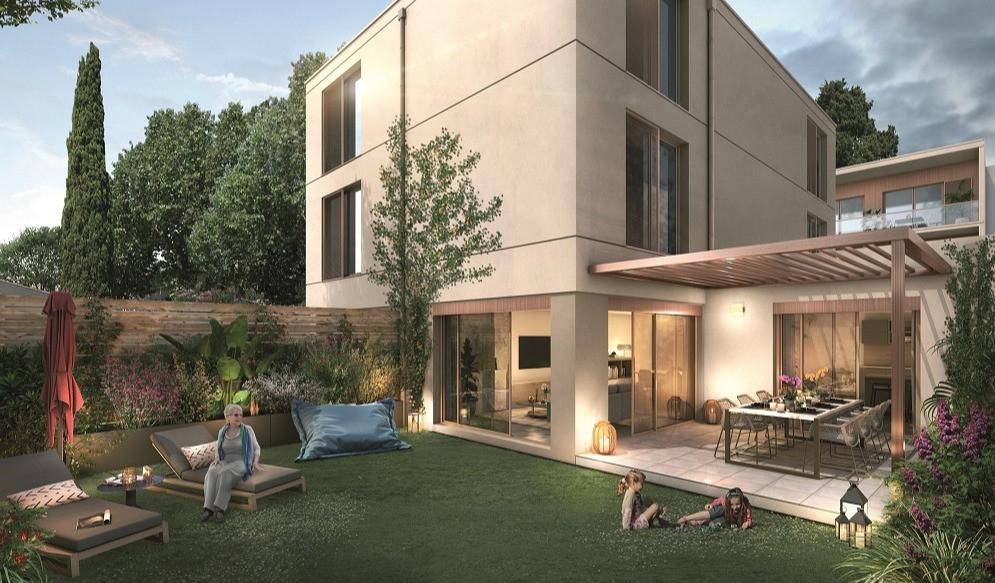 Villa Lucia - Maisons de ville neuve à AIX EN PROVENCE