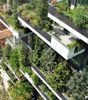 """Deux architectes italiens ont imaginé un concept original """"d'immeubles arbres"""" pour lutter"""