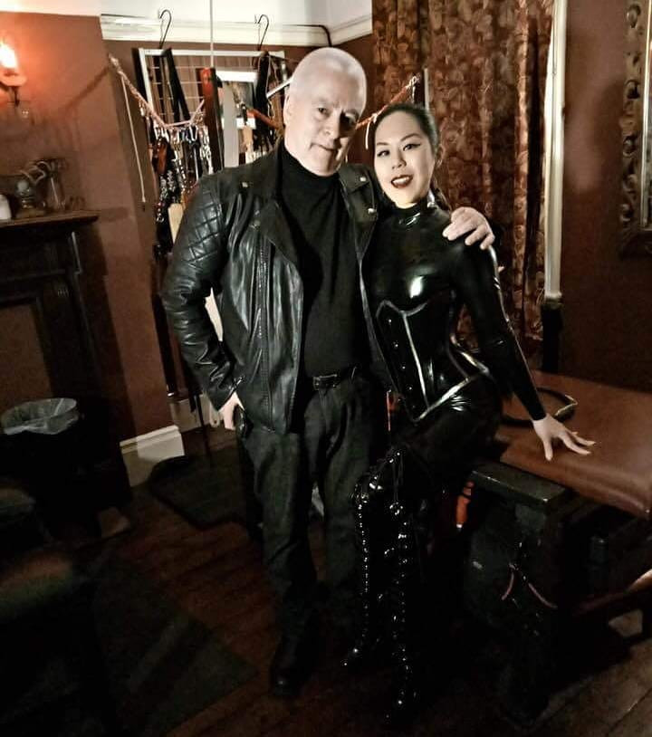 Queen Cobra with Chardmore Society founder and Skintwo Magazine CEO Tim Woodward