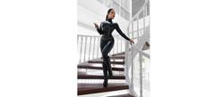 Queen Cobra latex catsuit