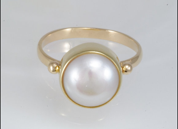 Eden Pearl and Gold Ring