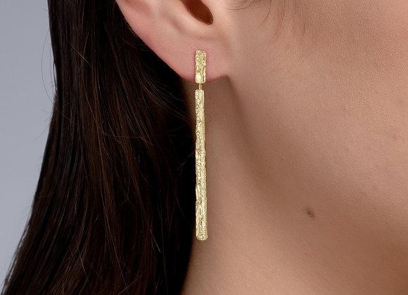 Negev Gold Earrings