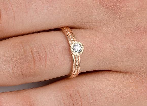 Orit Diamond Gold Ring
