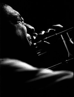 Preservation Hall Trombone Player