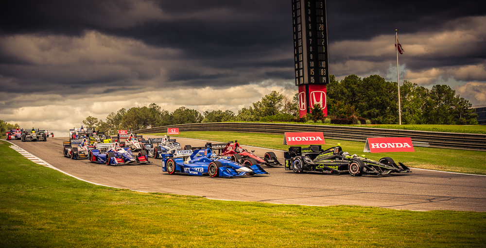 Indy Race Barbers Motorsport Park