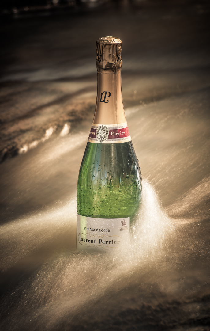 Flowing Champagne