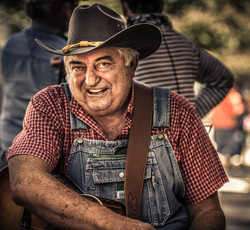 Musician at Fiddler's Convention