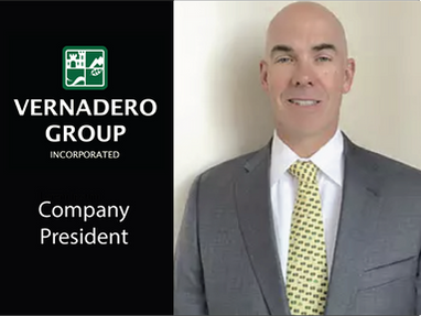 Vernadero Proudly Announces the Promotion of Dr. Eric Webb to Company President