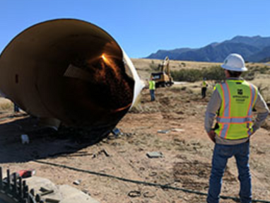 Spotlight: Wind Turbine Demolition and Salvage, Fort Huachuca, Arizona