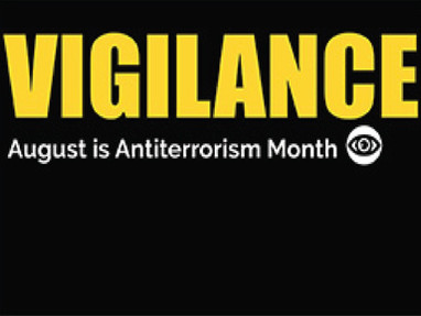 Antiterrorism Month Encourages Awareness and Vigilance - We All Do Our Part!