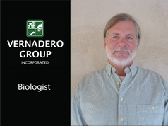 """Vernadero Welcomes Our New Biologist Charles """"Chuck"""" Peterson"""