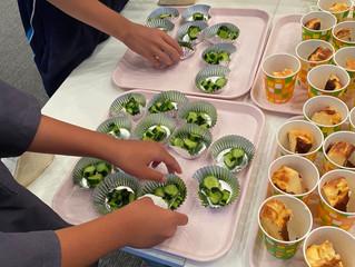 子ども食堂「ゆるっとほっとかふぇ」様へ旭元気野菜をフライング提供