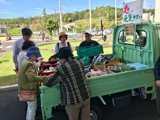 TOYOTAの広瀬フェスタで旭元気野菜の即売会を開催しました!