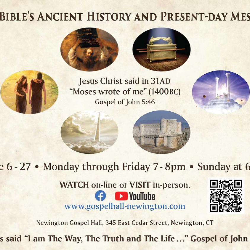 The Bible's Ancient History and Present-Day Message