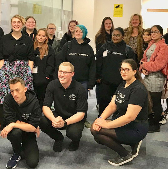 NHS Health Champions London Trip