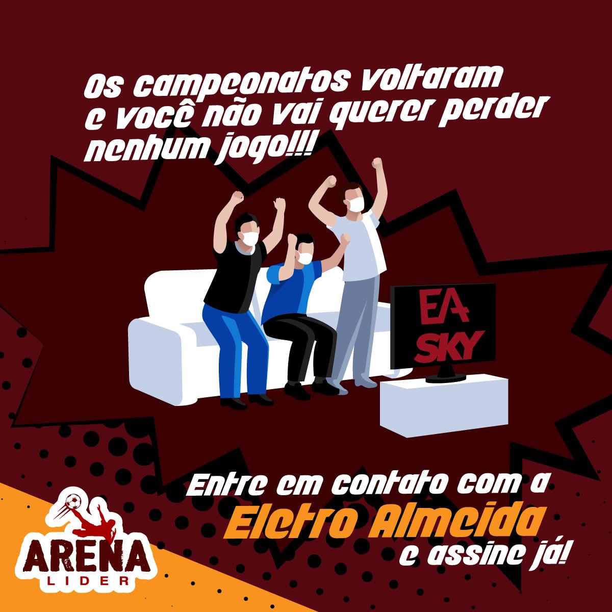 Arena Líder + Sky Eletro Almeida