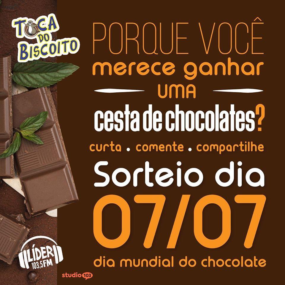 Promoção - Dia Mundial do Chocolates - Cliente Lider FM