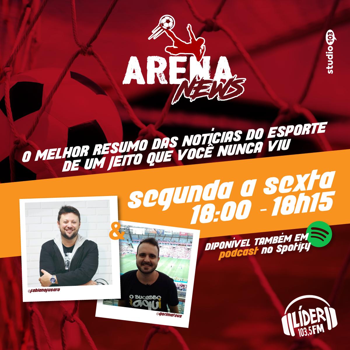 Chamada - Arena News