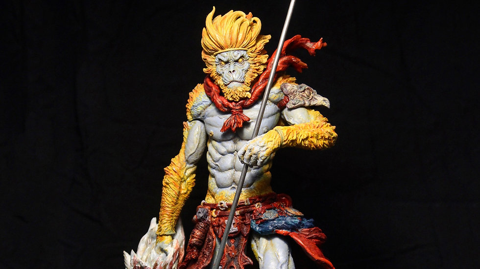 Scale 1/6 Monkey King painted resin kit