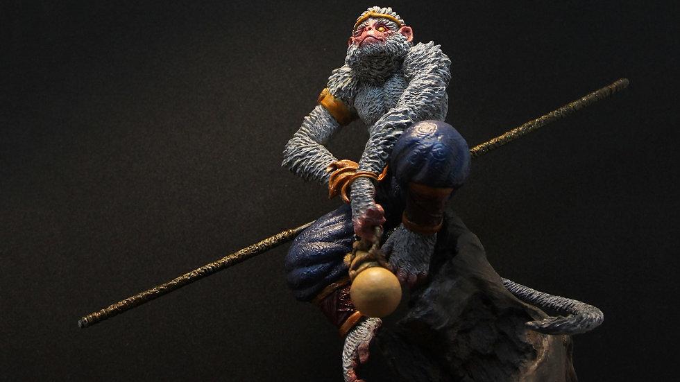 Sun Wukong unpainted resin kit