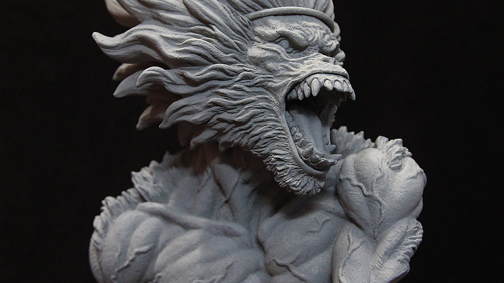 Monkey King 1/4 Bust resin kit