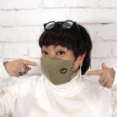 ●キッスはマスクにしてね! なオジョウ唇マスク
