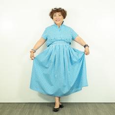 サントロペが似合うあの女優に捧げる大人ギンガムシャツ/サントロペが似合うあの女優に捧げる大人ギンガムフレアースカート
