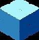 Blue Scale Hexagon