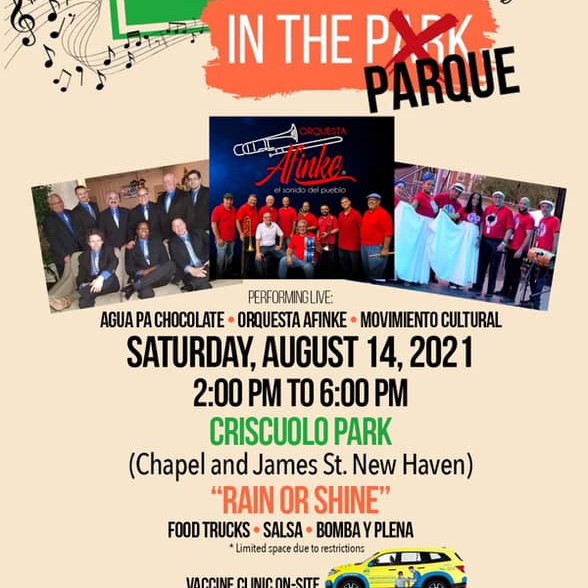 Music in the Parque! Hosted by Puerto Ricans United