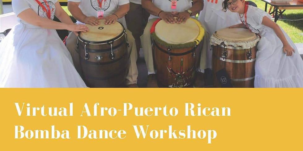 Virtual Afro-Puerto Rican Bomba Dance Workshop