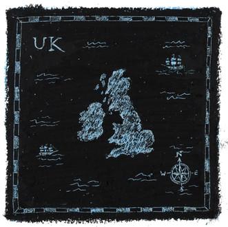 Map of U.K.